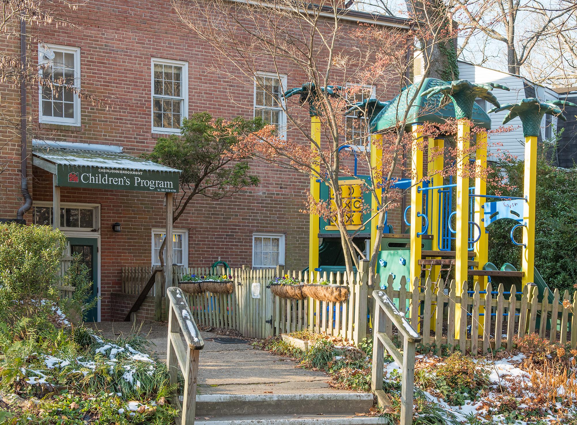 Cabin John Brookmont Preschool - Playground